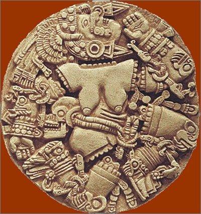 Coyolxauhqui Aztec Moon Goddess