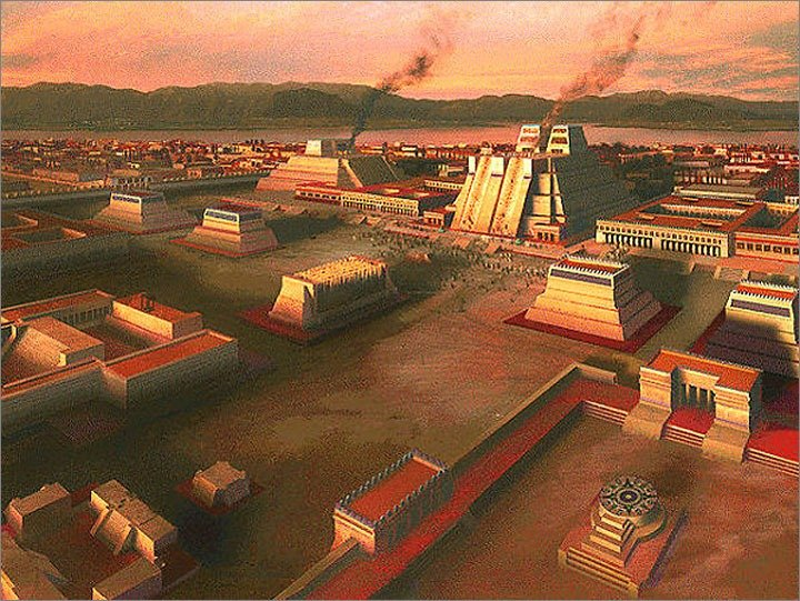 Templo Mayor in Mexico