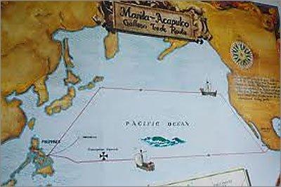 Manila Acapulco Galleon Trade Route