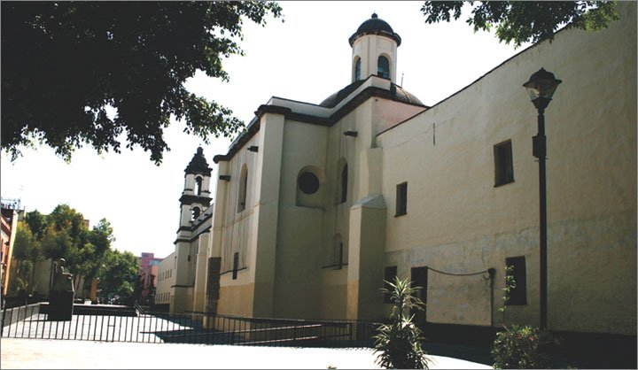 Building where Sor Juana Lived till her Death