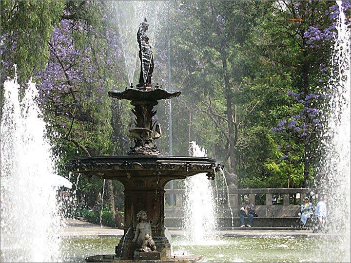 Alameda Park Fountain