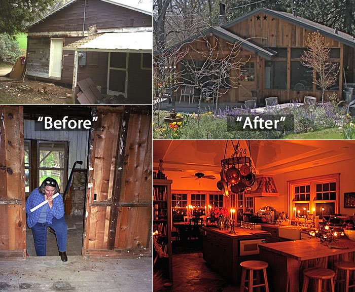 Jane's Before and After House Photos