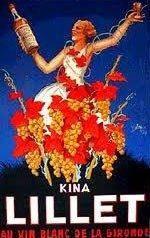 Lillet Wine Poster