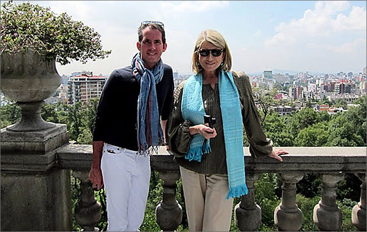 Martha Stewart in Mexico