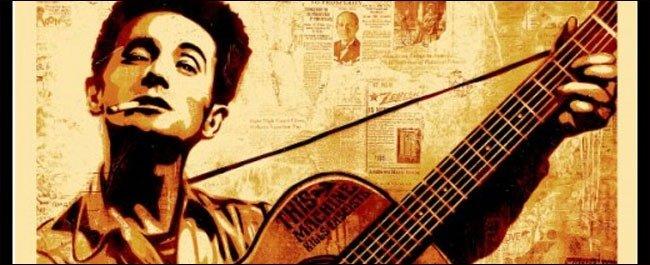 Woody Guthrie Art